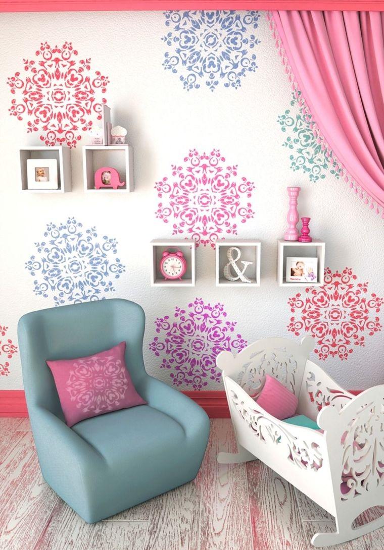 girl's mandala decor