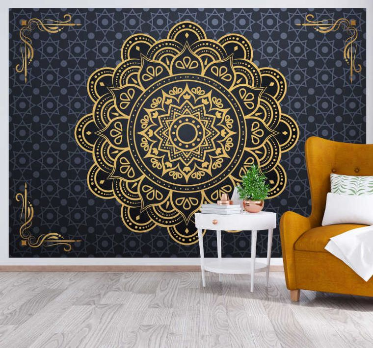 wall mandala decor