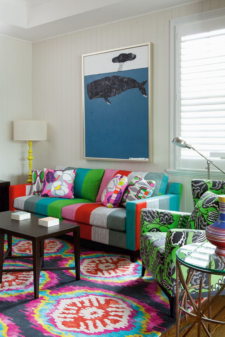 colorful eclectic decor