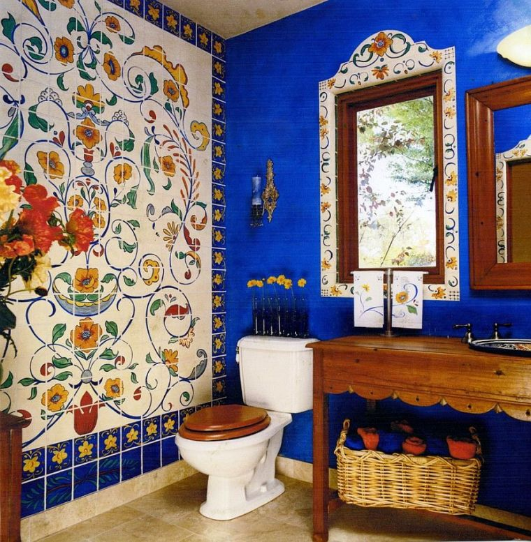 eclectic bathroom decor