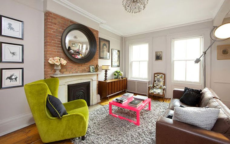 eclectic decor room