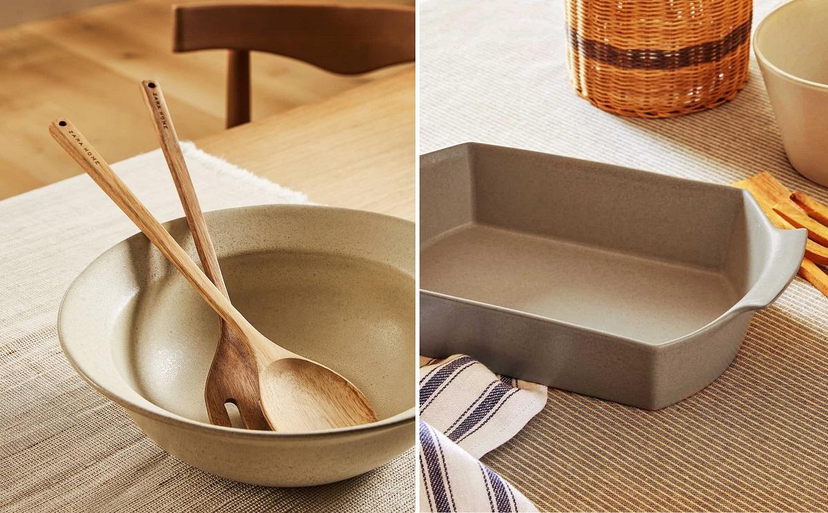 Baking pan and bowl