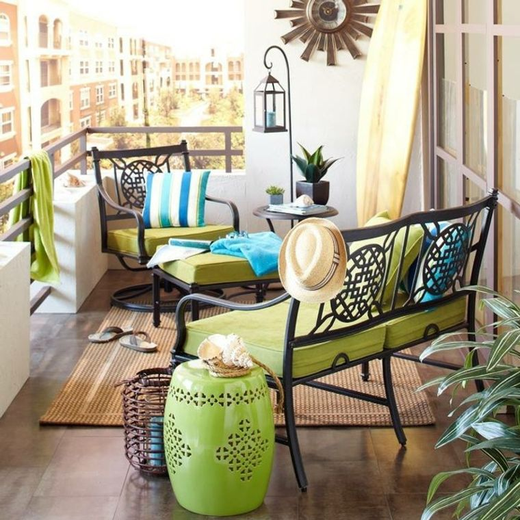 creative ideas cozy balcony