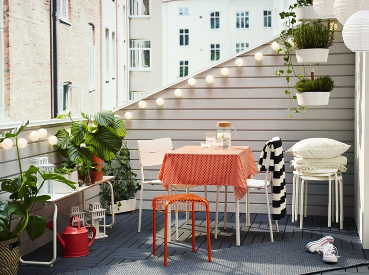creative ideas decorated balcony