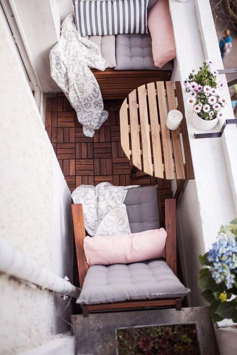 creative ideas narrow balcony