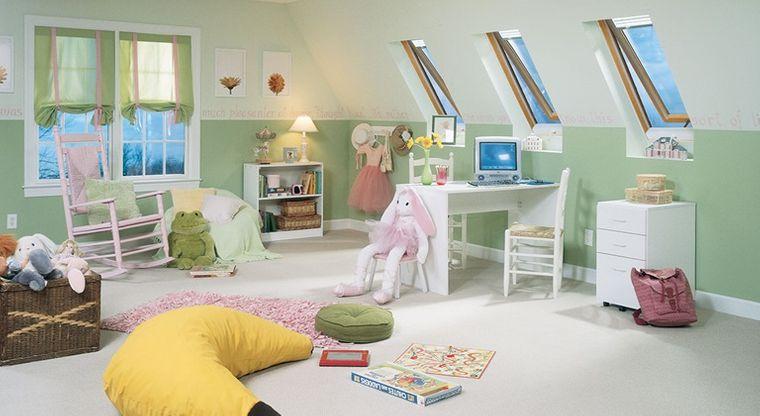 games room attic