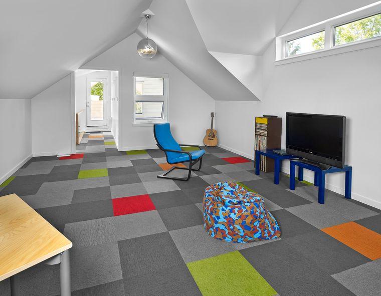 flashy floor game room