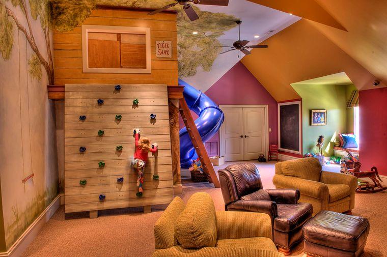 slide games room