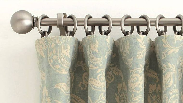 types of ring curtains