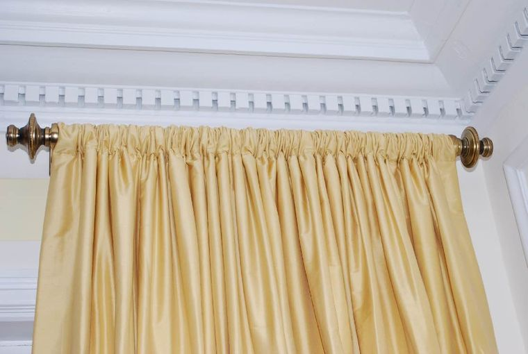 types of curtains pocket rod