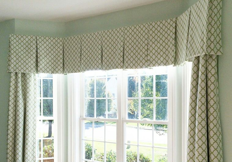 types of valance curtains