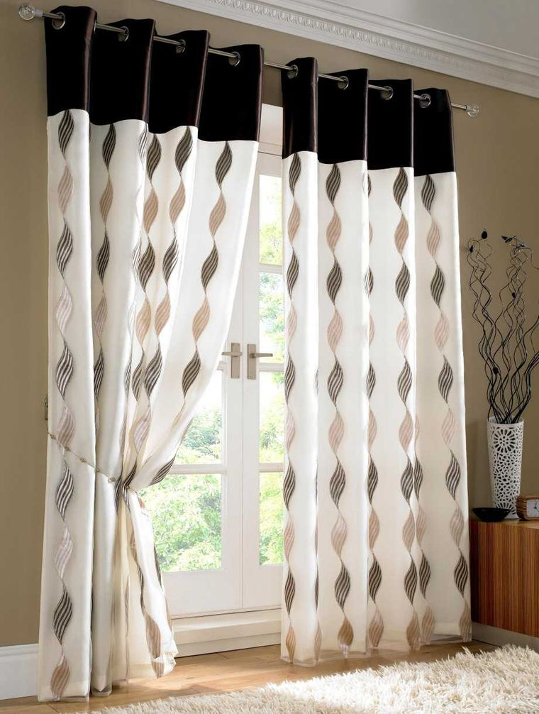 types of decorative curtains