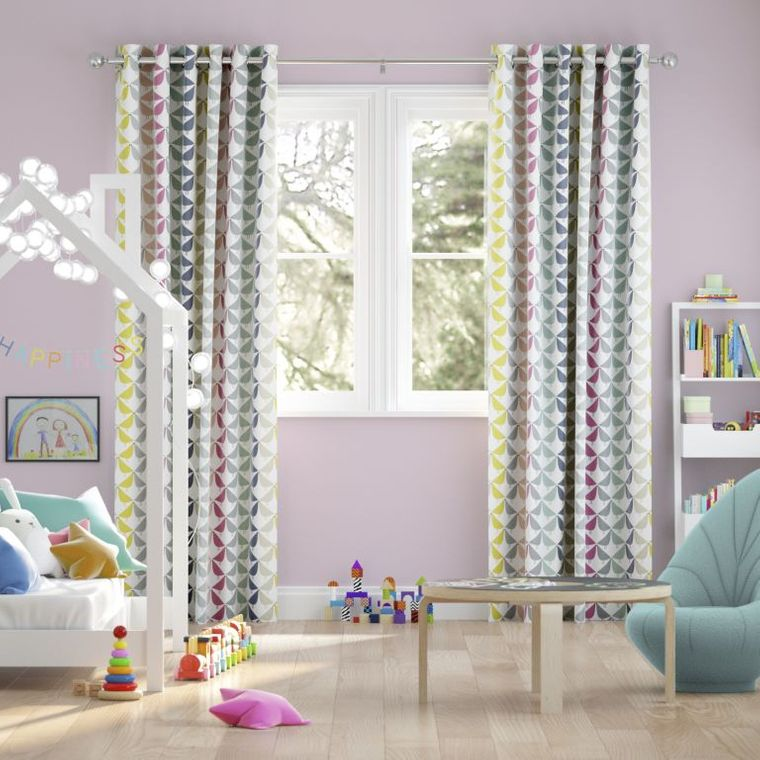 types of children's bedroom curtains