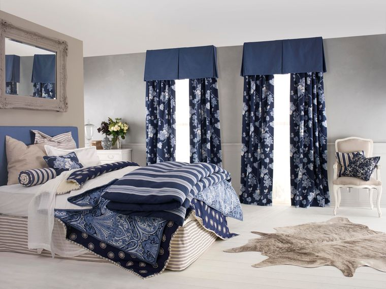 types of bedroom curtains