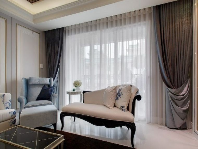 types of elegant curtains
