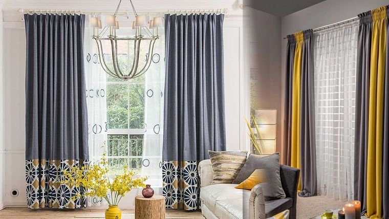 types of ruched curtains