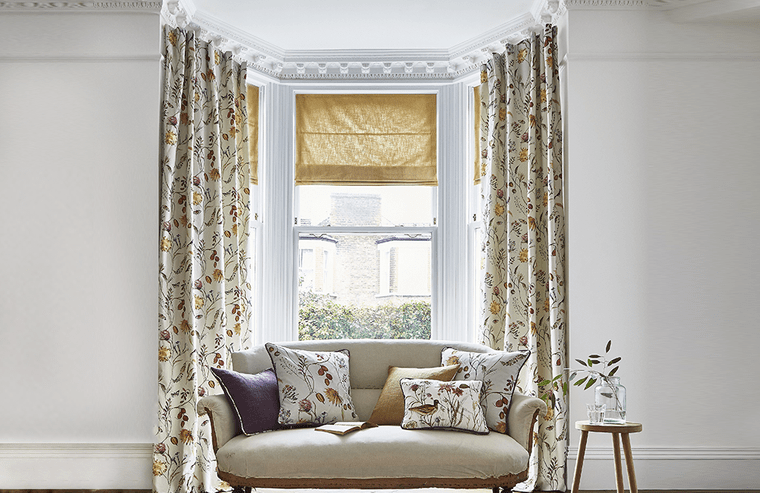 types of home curtains