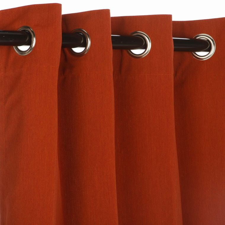 types of curtains eyelets