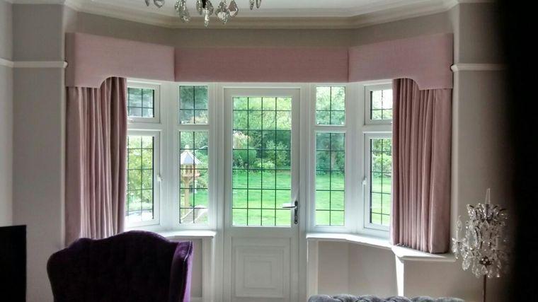 types of pelmet curtains