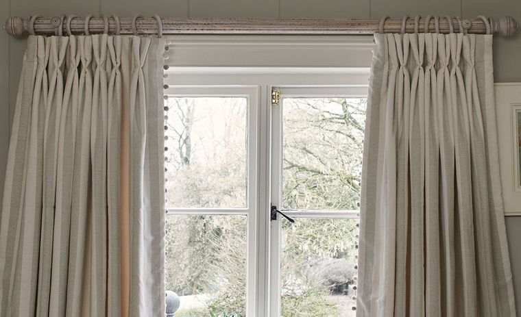 types of hanging pole curtains