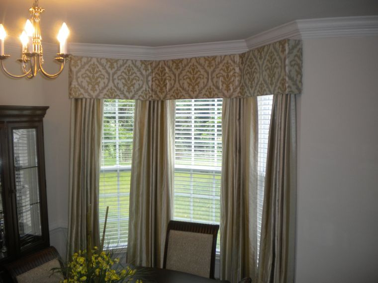 types of curtains selection