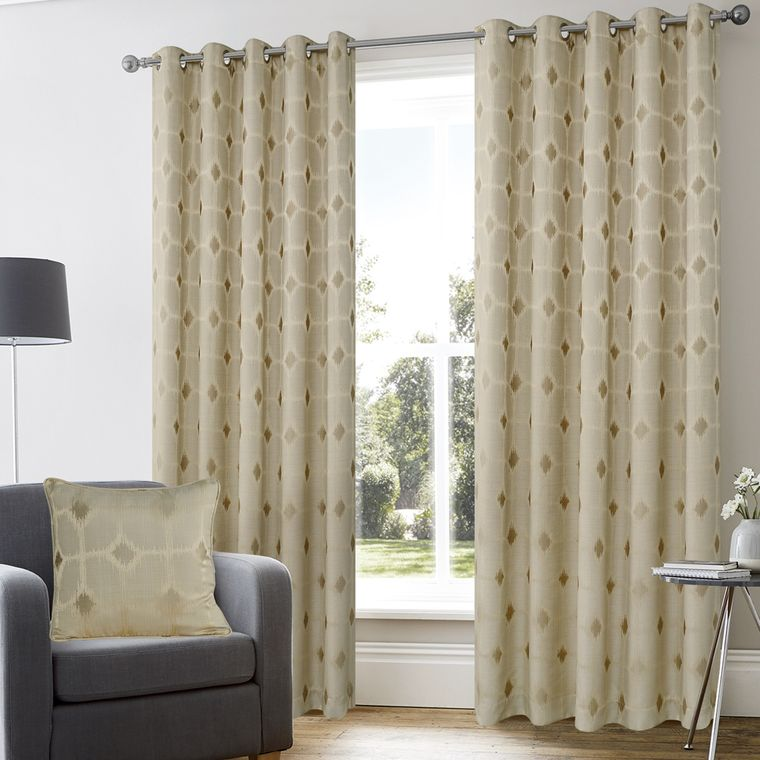 types of curtains combinable fabrics