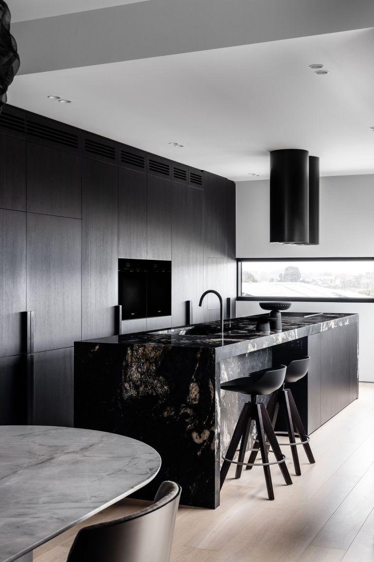 cocina-marmol-negro-ideas