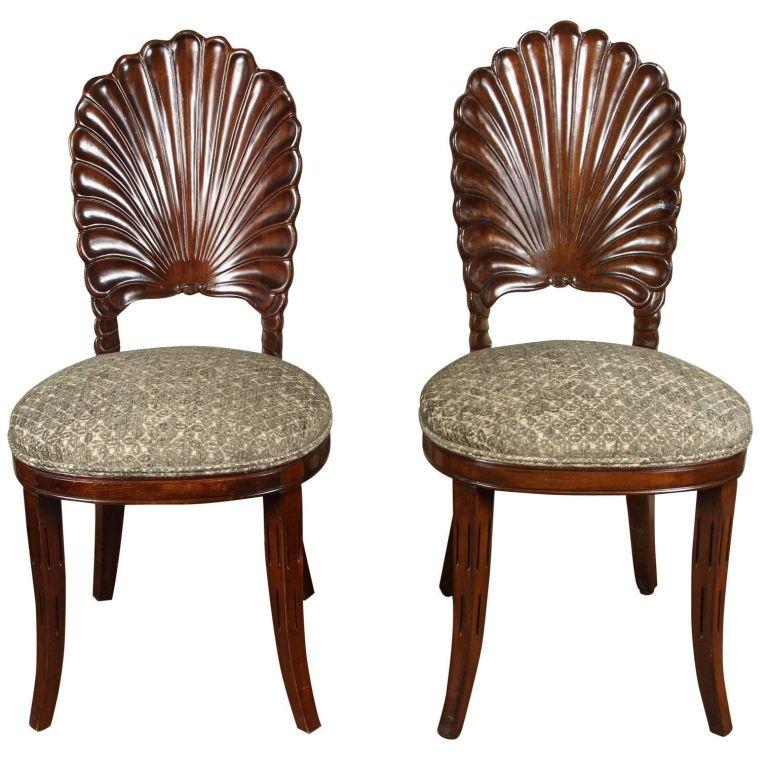 conchas marinas diseño sillas