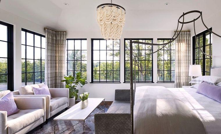 estilo mediterráneo amplio dormitorio