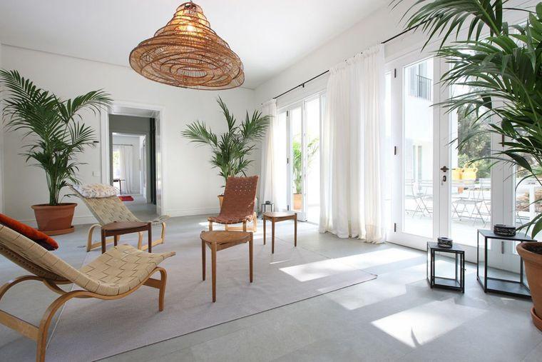 estilo mediterráneo minimalista