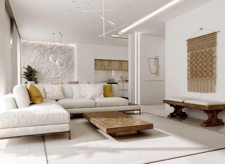estilo mediterráneo muebles modernos