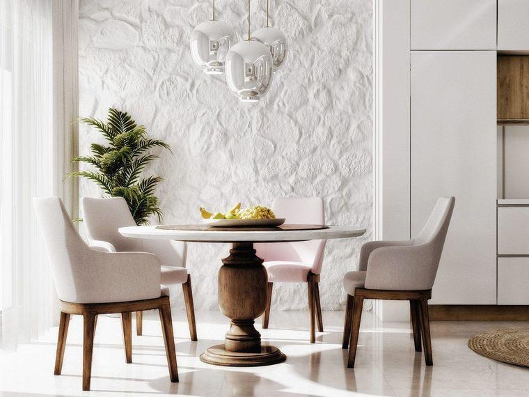 estilo mediterráneo textura pared