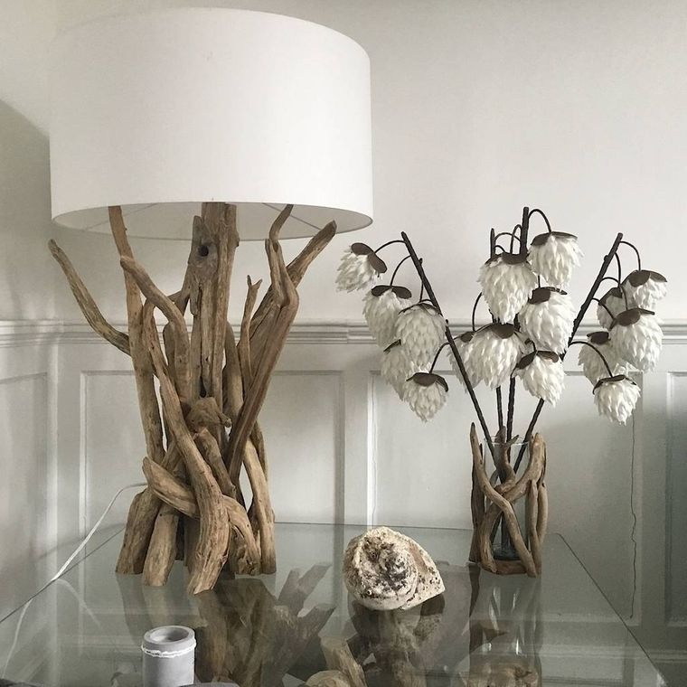 table lamps with branches