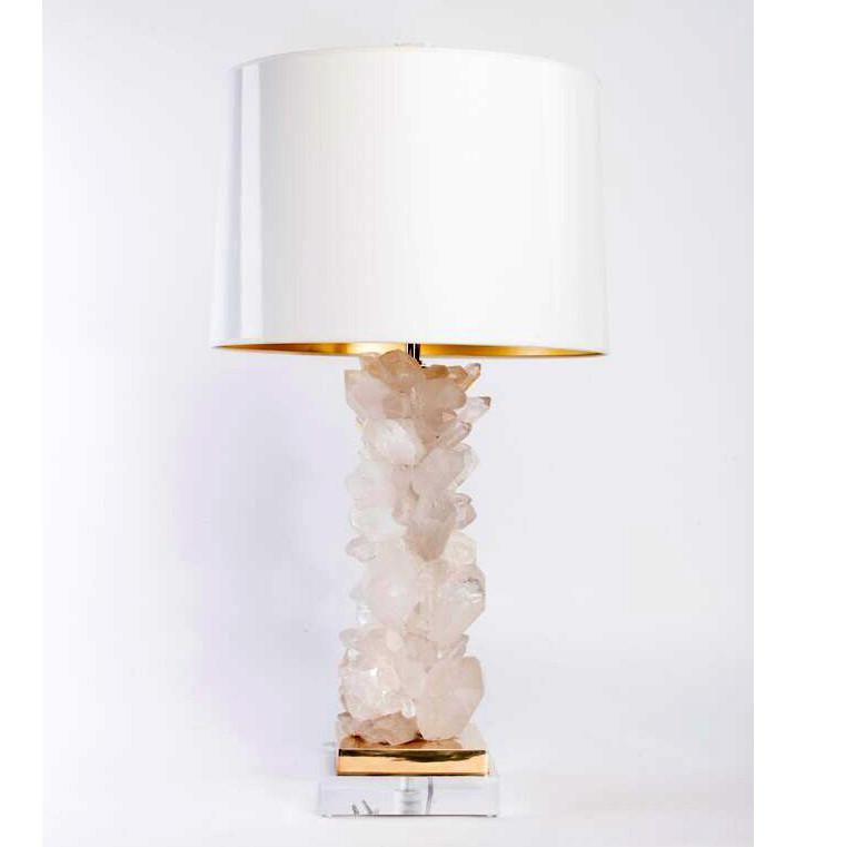 white quartz table lamps