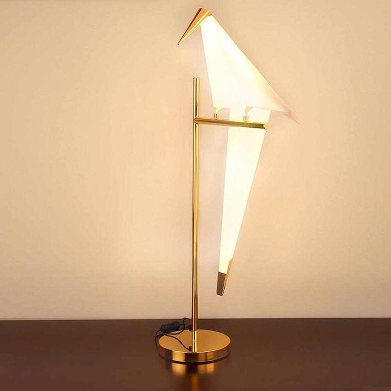 bird design table lamps