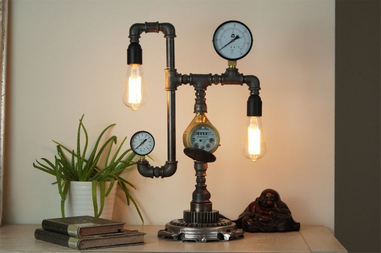 industrial design table lamps