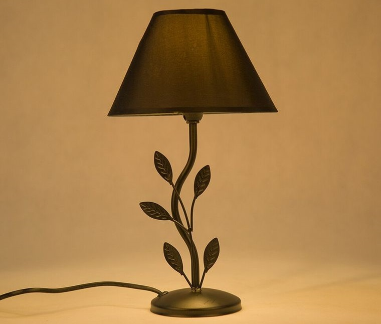 table lamps leaves