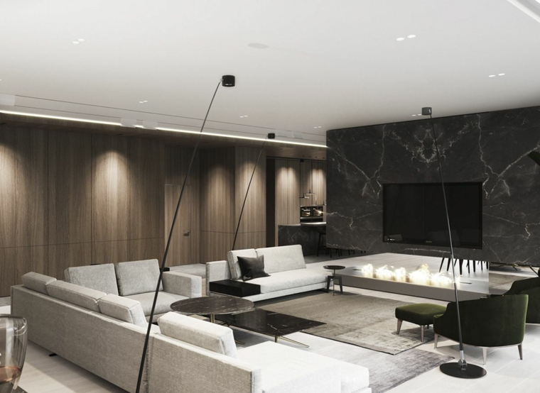 marmol-para interiores-color-negro-ideas