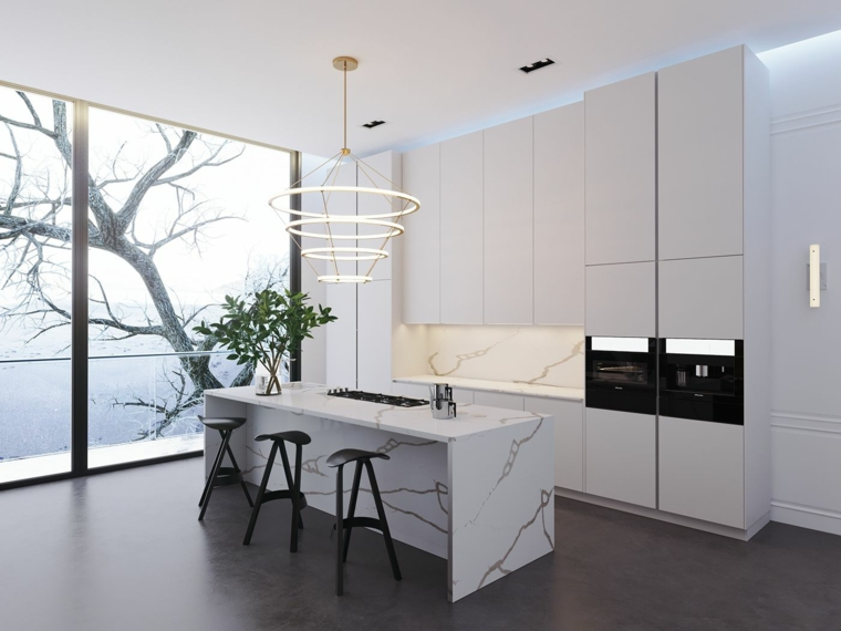 marmol-para interiores-diseno-cocina-estilo