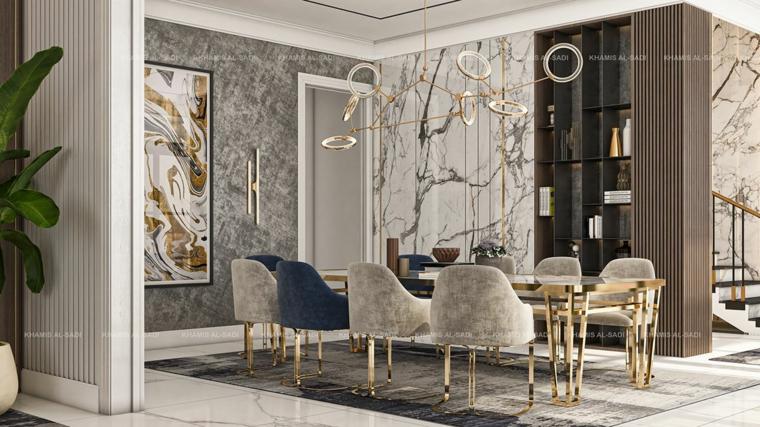 marmol-para interiores-ideas-casa-comedor