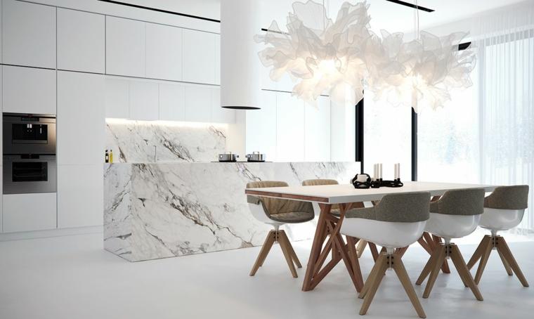marmol-para interiores-isla-cocina-diseno-moda