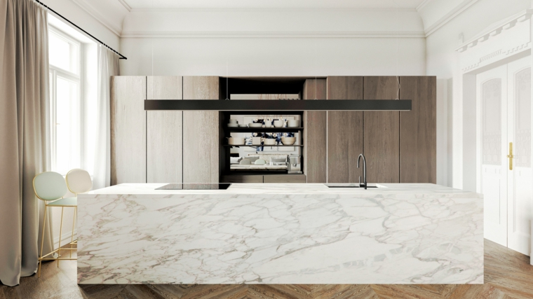 marmol-para interiores-isla-grande-diseno-opciones