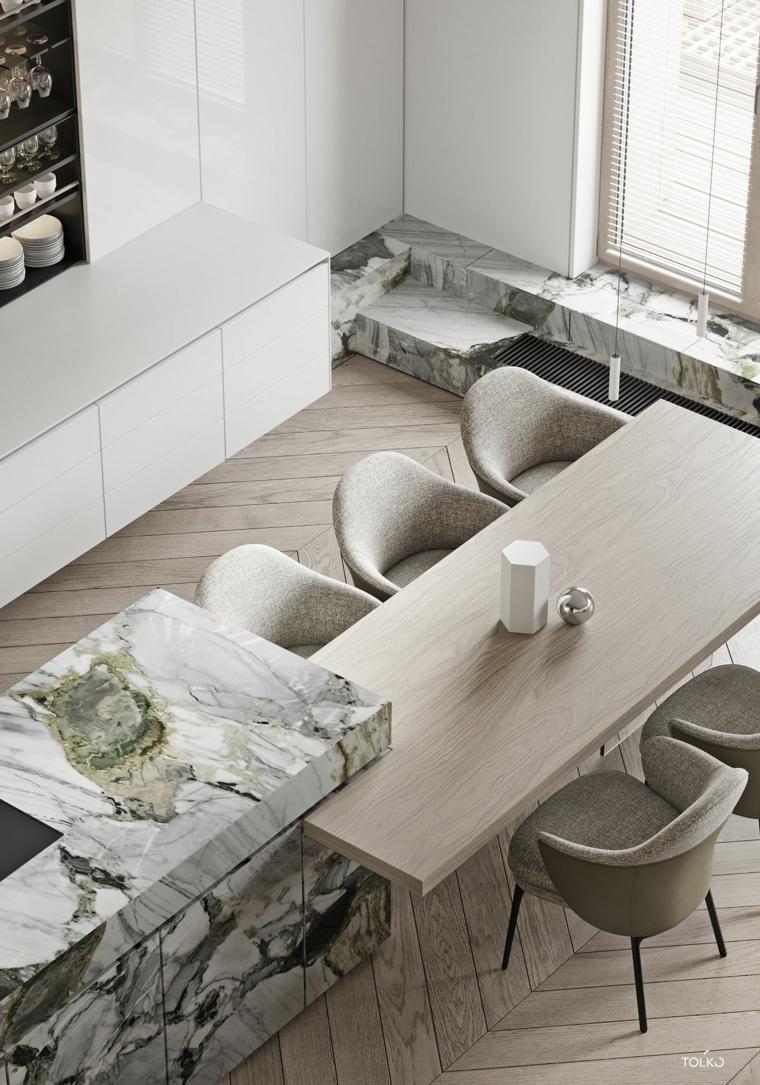marmol-para interiores-isla-opciones-cocina