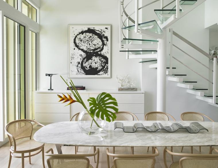 marmol-para interiores-mesa-comedor