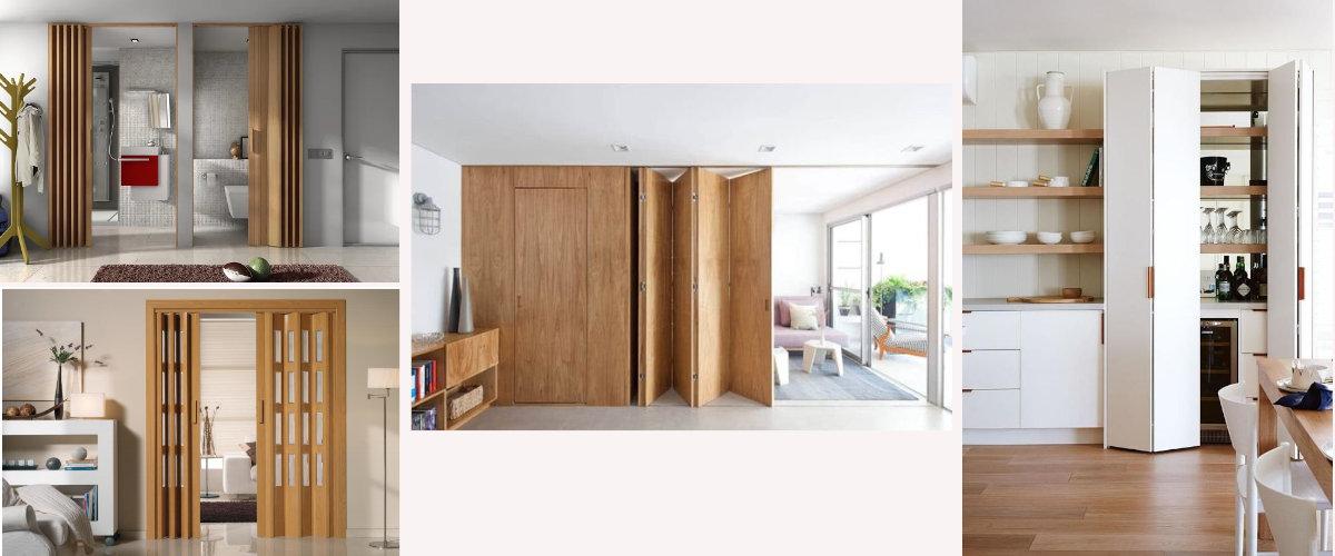 Pvc and wood doors