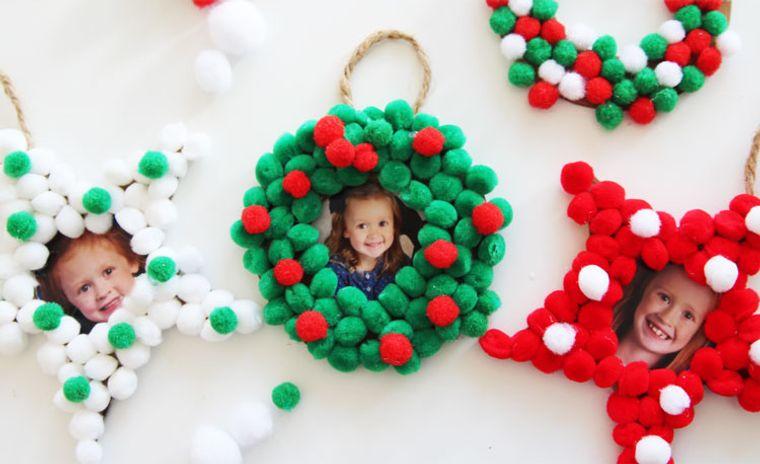 pompoms christmas ornaments