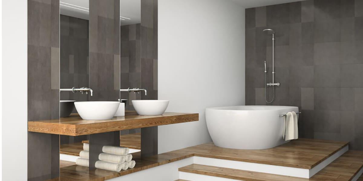 Renovate the bathrooms