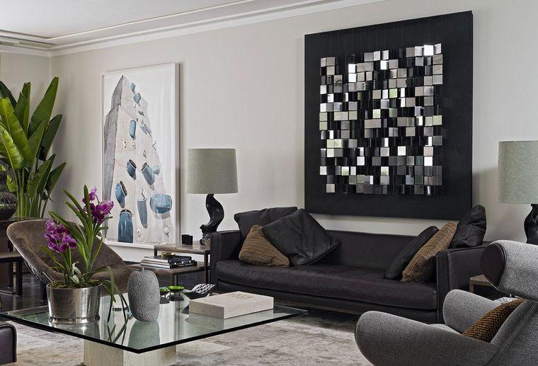 modern decor art wall accent