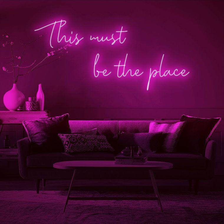 modern decor neon lights