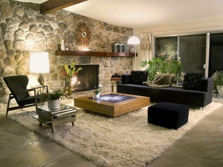 modern stone wall decor